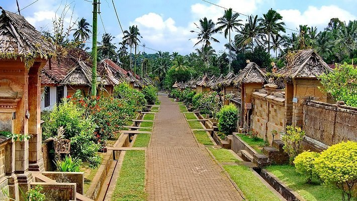 bali penglipuran village, balinese heritage