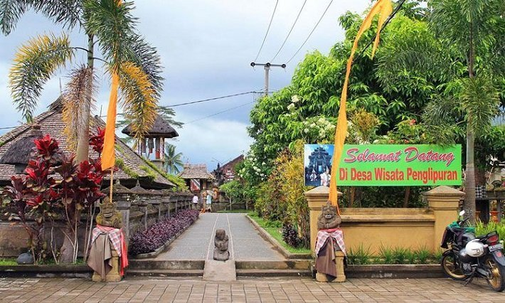 penglipuran village, tourist attraction, bali