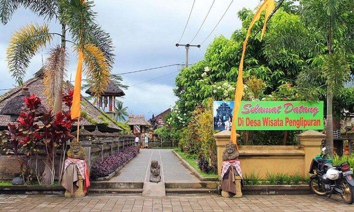 penglipuran village, tourist attraction, bali