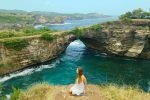 broken beach, nusa penida instagram places