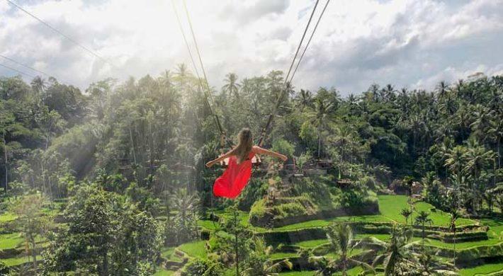 Rice Terrace Swing Ubud Expedition
