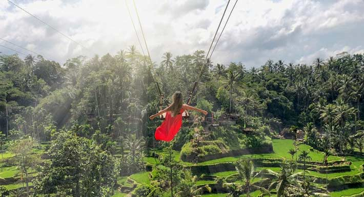 Rice Terrace Swing Ubud Expedition