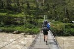 suspension bridge, west papua, wamena, suspension bridge papua, baliem valley trekking